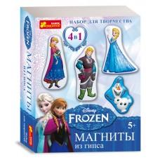 Магніти з гіпсу Frozen