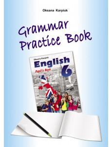 Англійська мова 6 кл. Робочий зошит з граматики