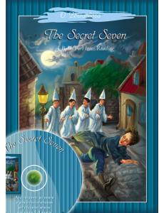 Таємнича сімка за мотивами твору Енід Блайтон. Книга для домашнього читання англійською мовою для учнів 7-9 класів + аудіододаток