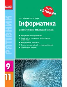 Інформатика у визначеннях, таблицях і схемах 9-11 кл