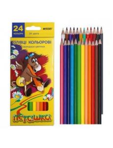 Набір олівців 24 кол. Marco 1010