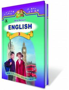 Англійська мова 3 кл Підручник Несвіт