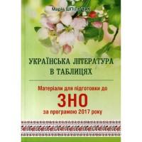 Українська література в таблицях Матеріали для підготовки ЗНО 2018