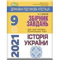 ДПА 2021, Історія України 9 кл. Збірник завдань Власов
