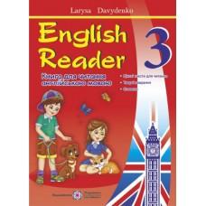 English Reader: Книга для читання англійською мовою. 3 клас