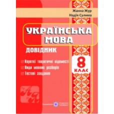 Довідник з української мови. 8 клас