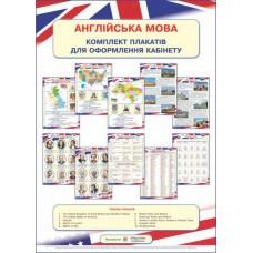 Англійська мова. Комплект плакатів для оформлення кабінету
