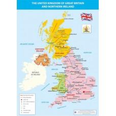 Карта Великобританії