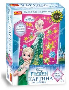 Картина из пайеток Frozen. Ельза. Лето