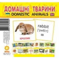Картки міні. Домашні тварини