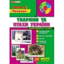 Демостраційні фотоілюстрації.Тварини та птахи України